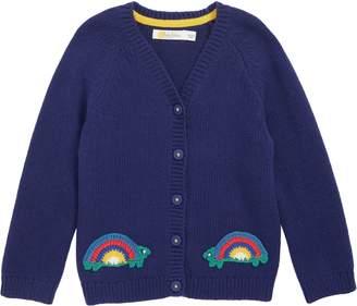 Boden Mini Crochet Cardigan