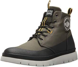 Palladium Men's Pallasider Coated Mid Chukka Boot