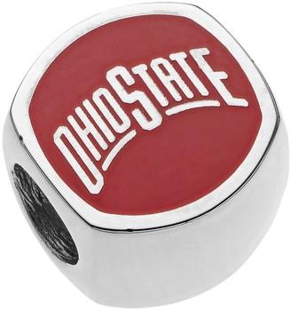 NCAA Logoart LogoArtSterling Silver Ohio State Buckeyes Bead