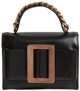 Fred Brushed Leather Bag W/ Chain Detail $905 thestylecure.com
