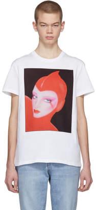 Stella McCartney White Venus Print Idol T-Shirt