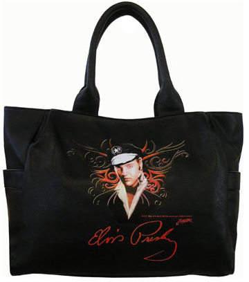 Women's Elvis Presley Signature Product Elvis Presley Tote Bag EV882