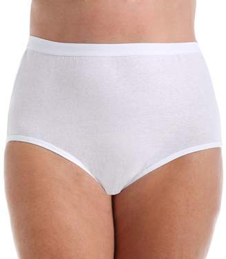 Fruit of the Loom Fit for Me Women`s Plus Size Cotton Brief Panties