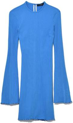 Ellery Sunshine Kid Mini Rib Dress in Blue