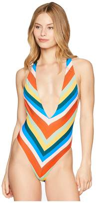 Bikini Lab THE Palm Springs Plunge One-Piece Swimsuit Women's Swimsuits One Piece