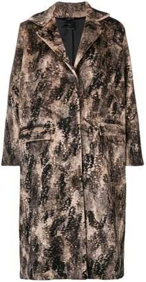 Avant Toi Animalier printed coat
