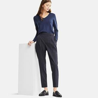 Uniqlo Women's Ezy Tucked Ankle-length Pants