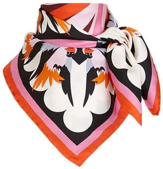 Fendi Parakeet foulard