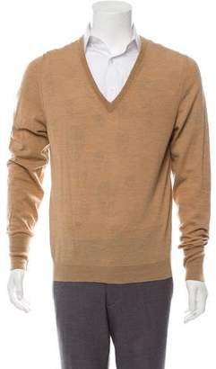 Alexander McQueen Wool Crew Neck Sweater