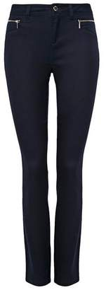 Wallis Navy Zip Pocket Trouser