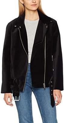 Liebeskind Berlin Women's W1173400 Velvet Jacket, (Black 9999), X-Small