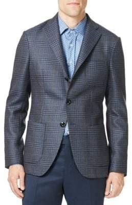 Etro Houndstooth Sportcoat