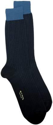 Etro ribbed socks