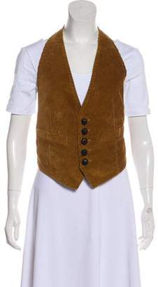 DSQUARED2 Corduroy Halter Vest