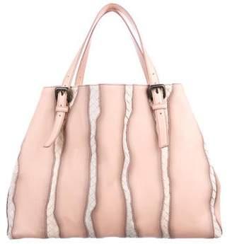 ff2401cdc Bottega Veneta Pink Leather Tote Bags - ShopStyle