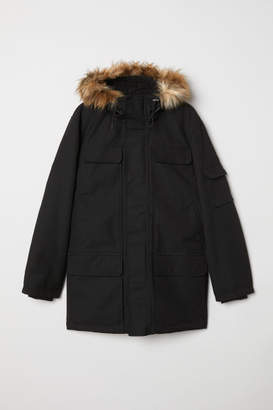 H&M Warm-lined Parka - Black