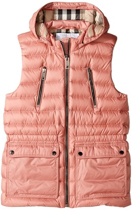 Burberry Kids - Maggie Puffer Jacket Girl's Coat $295 thestylecure.com