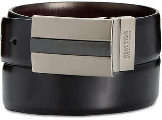 Kenneth Cole Reaction 35mm Reversible Mixed-Finish Plaque Belt