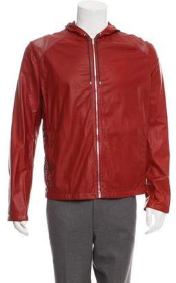 Hermes Perforated Leather Jacket