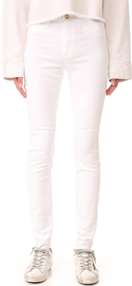 Joe's Jeans Charlie High Rise Skinny Jeans $189 thestylecure.com