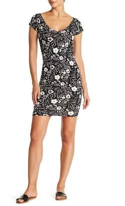 Billabong Babe Alert Bodycon Print Dress