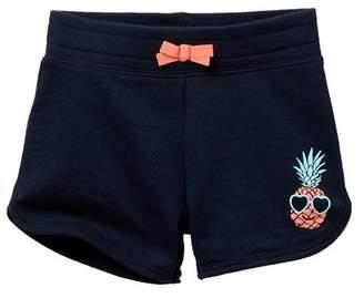 Joe Fresh Solid Shorts (Toddler & Little Girls)