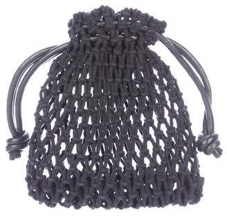 Clare Vivier Crocheted Henri Bucket Bag