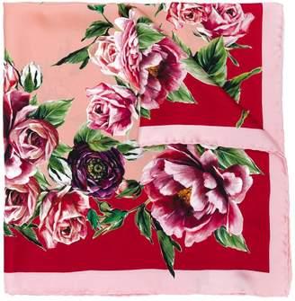 Dolce & Gabbana Majolica print neck tie