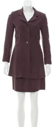 Chanel Notch-Lapel Skirt Suit