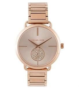 Michael Kors Portia Rose Gold-Tone Watch