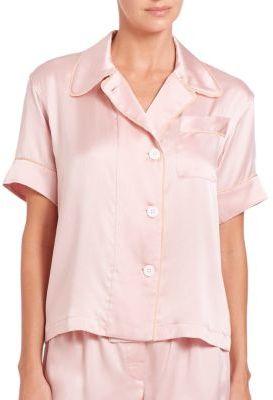 AraksAraks Shelby Silk Pajama Top