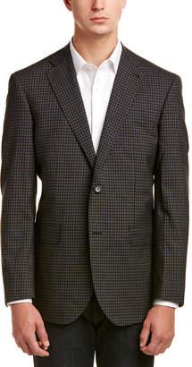 Zanetti Napoli Modern Fit Wool-Blend Jacket