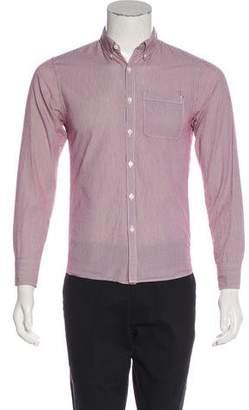 Jack Spade Striped Button-Up Shirt