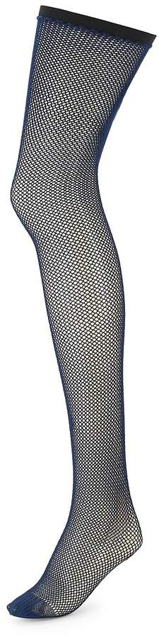 Women's Two-Tone Net Tights