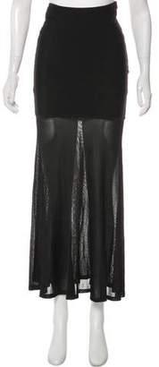 Herve Leger Knit Maxi Skirt