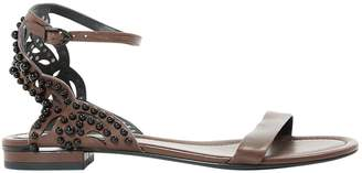 Stella Luna Leather Sandals