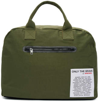 Diesel Reversible Green XX Match Duffle Bag