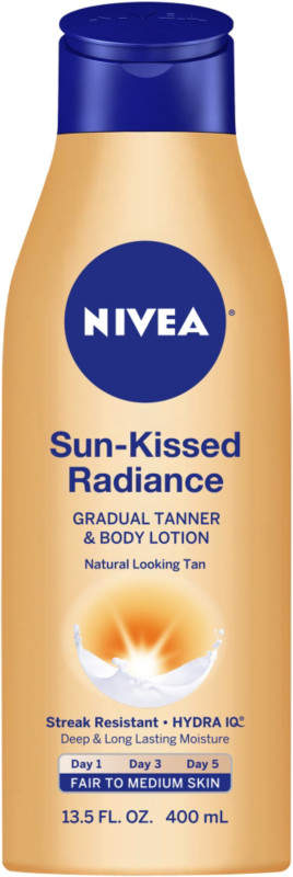 Nivea Sun-Kissed Radiance Gradual Tanner & Body Lotion