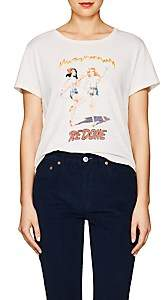 RE/DONE Women's The Classic Graphic Cotton T-Shirt - White