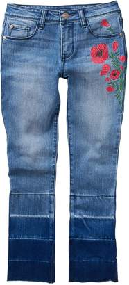 Crazy 8 Crazy8 Bebe Embroidered Jeans