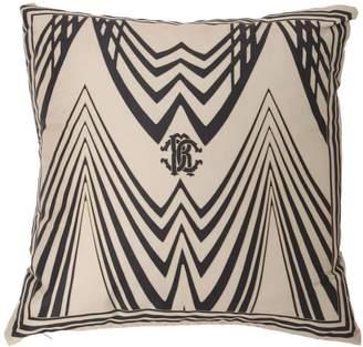 Roberto Cavalli Deco Printed Cotton Satin Accent Pillow