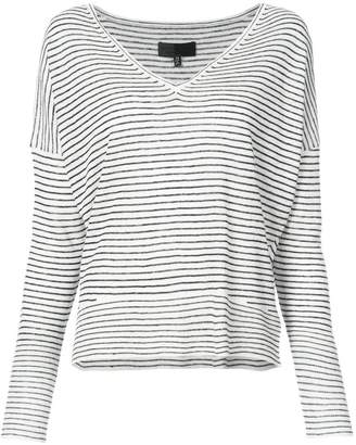 Nili Lotan thin stripe sweater