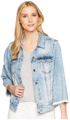Liverpool Bell Sleeve Jean Jacket Women's Coat