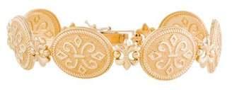 14K Fleur de Lis Bracelet