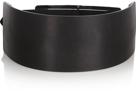 Maison Martin Margiela Paneled leather waist belt