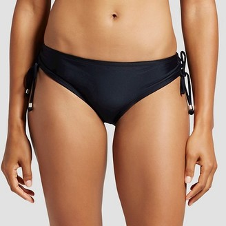 Mossimo Women's Ruched Side Tie Bikini Bottom - Mossimo $19.99 thestylecure.com