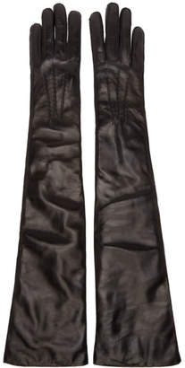 Ann Demeulemeester Black Joris Gloves