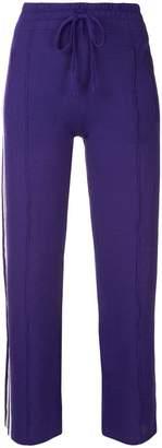 Etoiles side stripe track pants