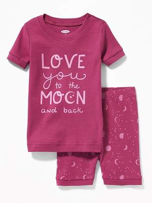 """Old Navy """"Love You to the Moon and Back"""" Sleep Set for Toddler & Baby"""
