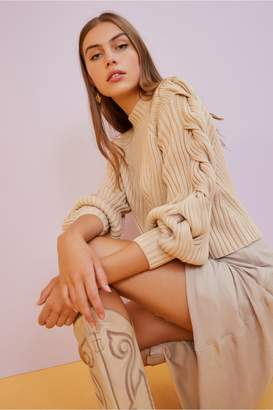 Finders Keepers ISLA KNIT nude